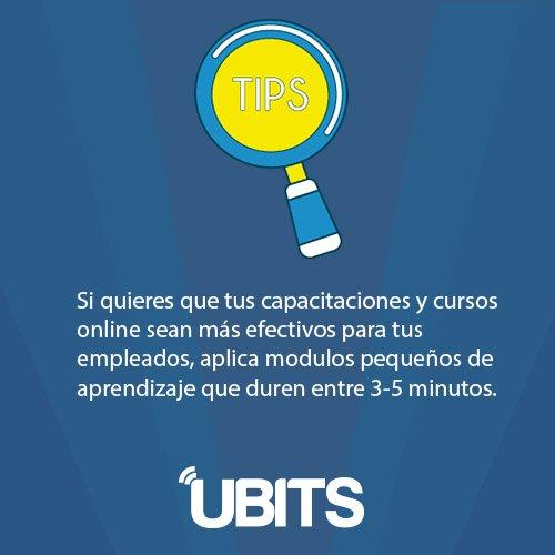 Ubits On Twitter Juevesdetips El Aprendizaje Online Por