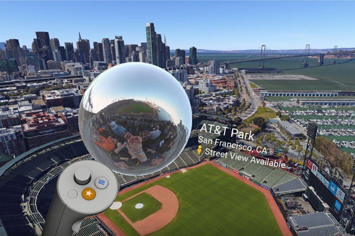 Google Earth @googleearth VR adds Street View feature. @Google @googlevr #StreetView #GoogleEarthVR #VirtualReality  http:// bit.ly/2wJK0qi  &nbsp;  <br>http://pic.twitter.com/ba37TJwIAF