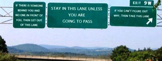 For my left lane people!  #passinglane #notafastlane https://t.co/Jq7bj2vOVe