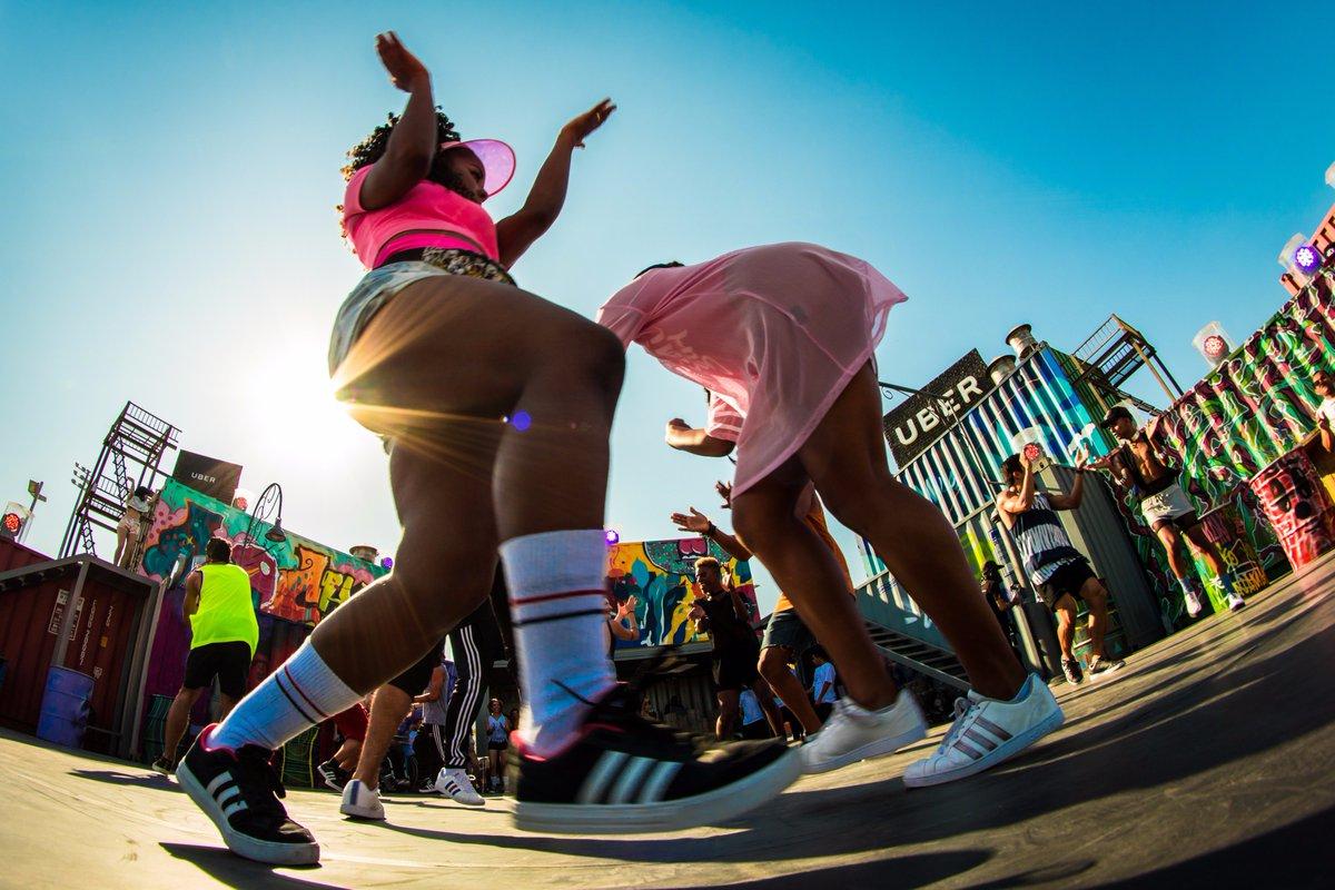 Quem chega no #RockInRio é recebido pela galera do Rock In Rio Dance Crew na #StreetDance. Só vem!