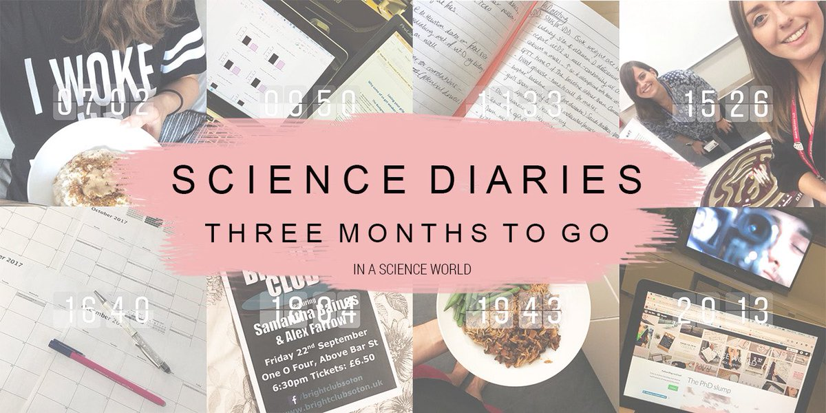 Thesis submission in T minus 3 months  check out my new blog post  #phdchat #phd #thesislife #science  https:// inascienceworldblog.wordpress.com/2017/09/21/sci encediaries3/ &nbsp; … <br>http://pic.twitter.com/MhfXvBqQGZ