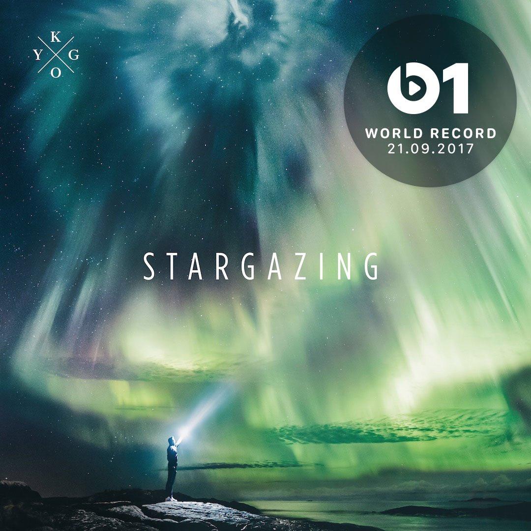 THIS #WorldRecord from @KygoMusic 'Stargazing' 👉🏼📲 LISTEN https://t.co/p2GUWIyYRz https://t.co/BefBMLMZdr