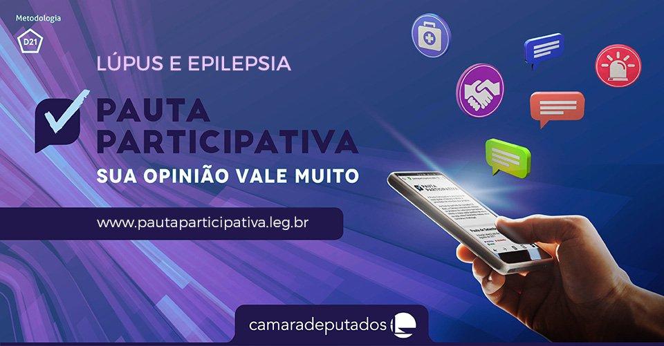 O #pautaparticipativa quer saber: você concorda com projeto sobre aposentadoria em caso de lúpus e epilepsia? Vote! https://t.co/ggm62NGV82