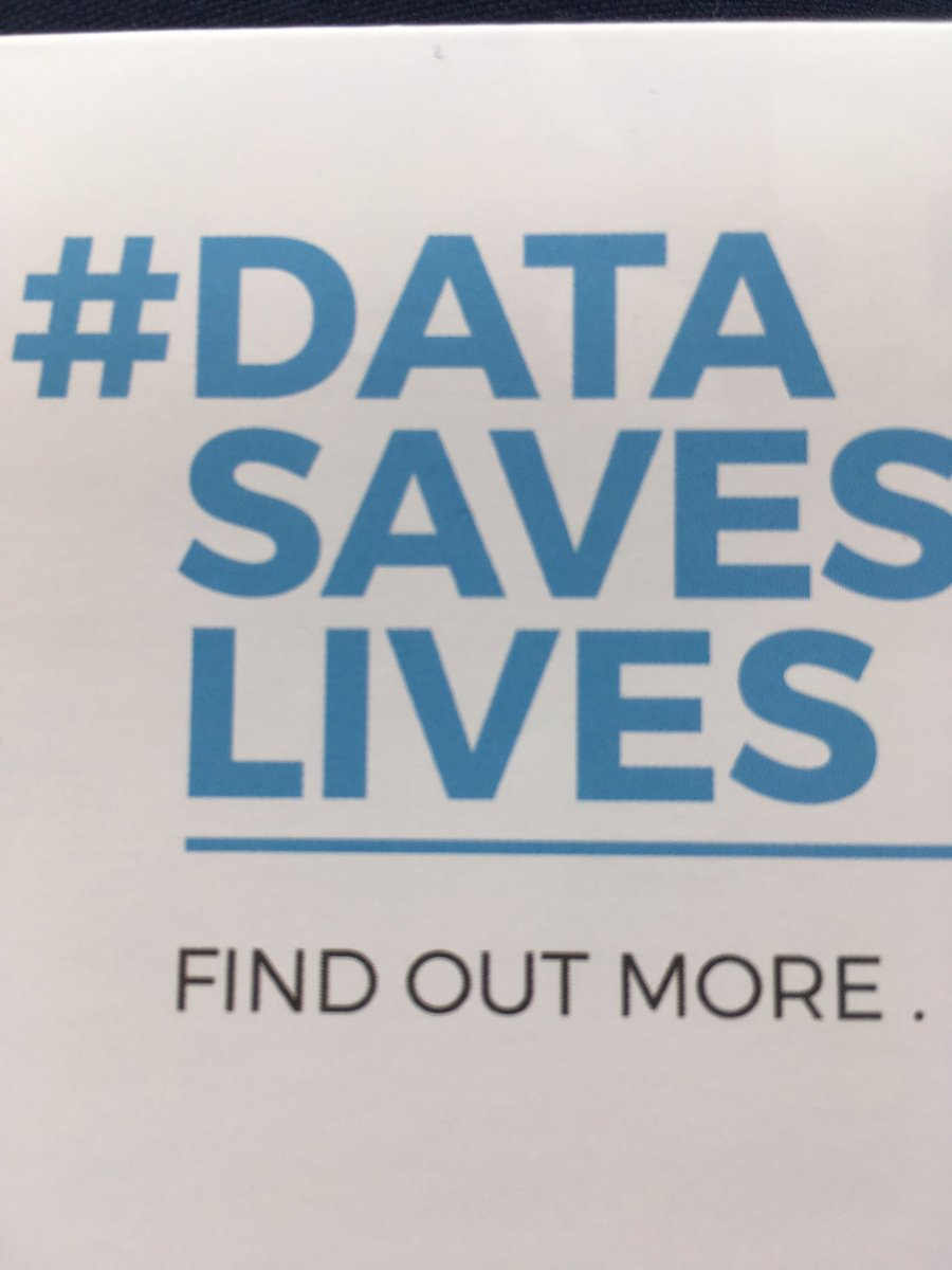 Couldn&#39;t agree more...would maybe prefix it with Good Data Saves Lives....@FarrInstitute @apha_analysts @thisnhs #datasaveslives <br>http://pic.twitter.com/oQbkS8mt8V