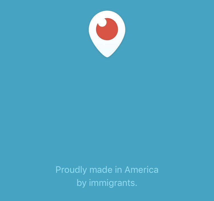 #Periscope  by @Twitter - &#39;proudly made in  by immigrants&#39; - #FollowMe:  https://www. pscp.tv/DrPascalMeier/ follow &nbsp; … <br>http://pic.twitter.com/74lz7SYa4q