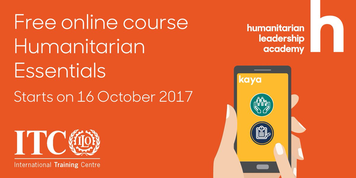 Learn the fundamentals of #humanitarian response with this free online course  https:// goo.gl/N9CAhE  &nbsp;   #MOOC #learn <br>http://pic.twitter.com/cTg0ZouhDy
