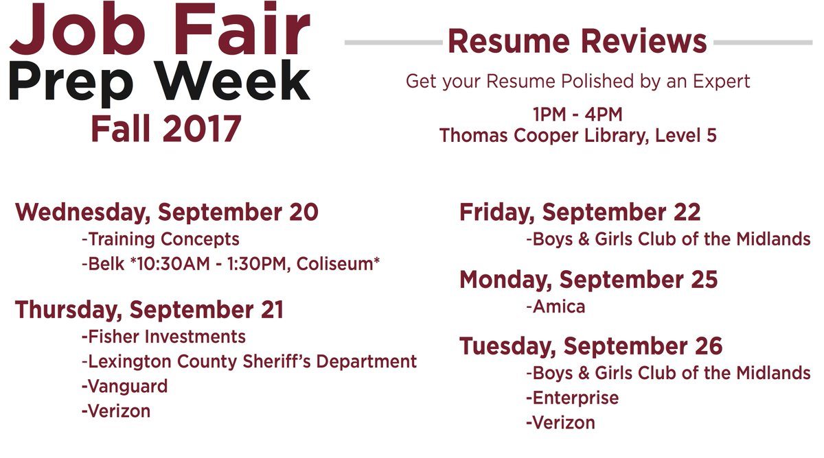 usc career center on twitter resume reviews are happening today