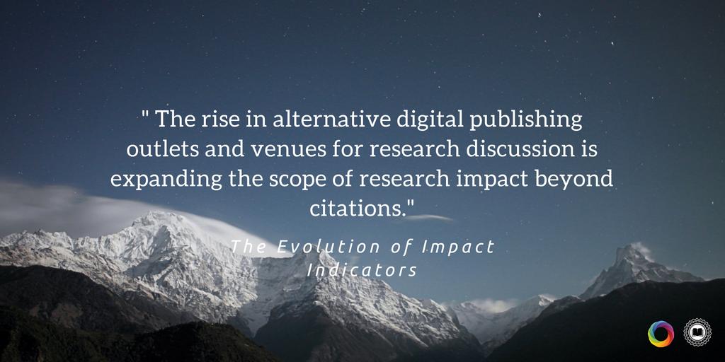 [eBook] Gain insight into the current state of #researchimpact &amp; the rise of #altmetrics:  http:// bit.ly/1gUU4EM  &nbsp;   @altmetric<br>http://pic.twitter.com/Pwv2ARqA1Y
