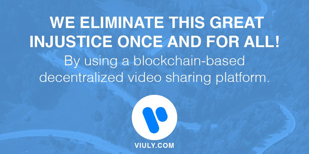 A revolutionary solution that changes the multi-billion dollar market of online #VIDEO forever.  https:// viuly.com / &nbsp;   #viuly #ICOs<br>http://pic.twitter.com/GRZpt0M0mr