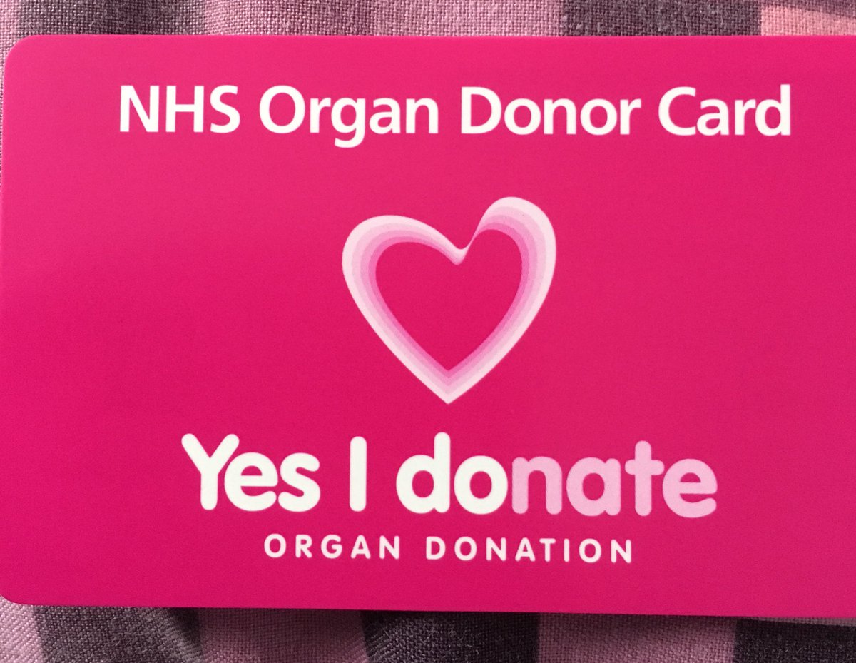 It&#39;s arrived #organdonation #helpothers <br>http://pic.twitter.com/aZaZXgli11