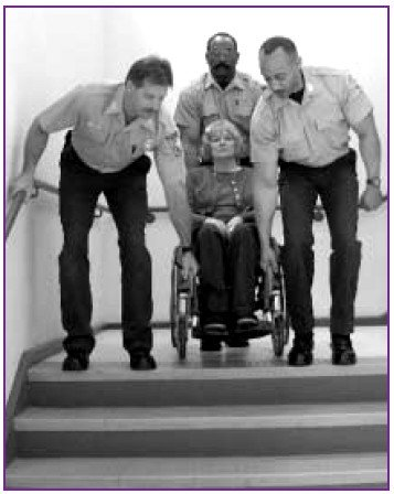 #FireEvacuation #Staircases &gt; GOOD #Manual #Assistance 4 #WheelchairUsers &gt; Always 2+1 Minimum !  #PwAL #Design #FireSafety #Management #SFE<br>http://pic.twitter.com/DPq2XLa0tR