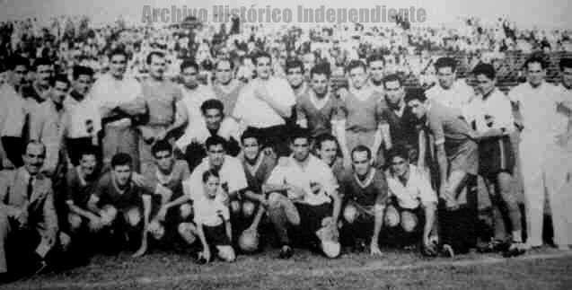 Sólo amistosos ante Nacional de Paraguay