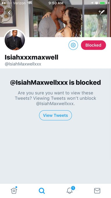 Report & Block this fake account ❌ Isiahs only twitter is: @IsiahMaxwell 🔥😈 https://t.co/xi4NvXUVTP