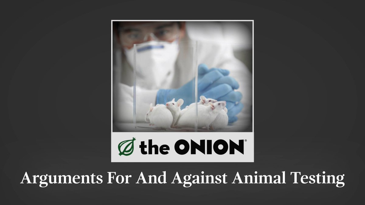 "animal testing arguments against testing Animal testing is a hot button issue with a multitude of opinions on each side 40 comments on ""5 reasons testing on animals makes no sense"" sign on with:."
