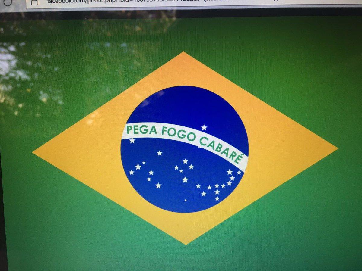 Nova bandeira brasileira!