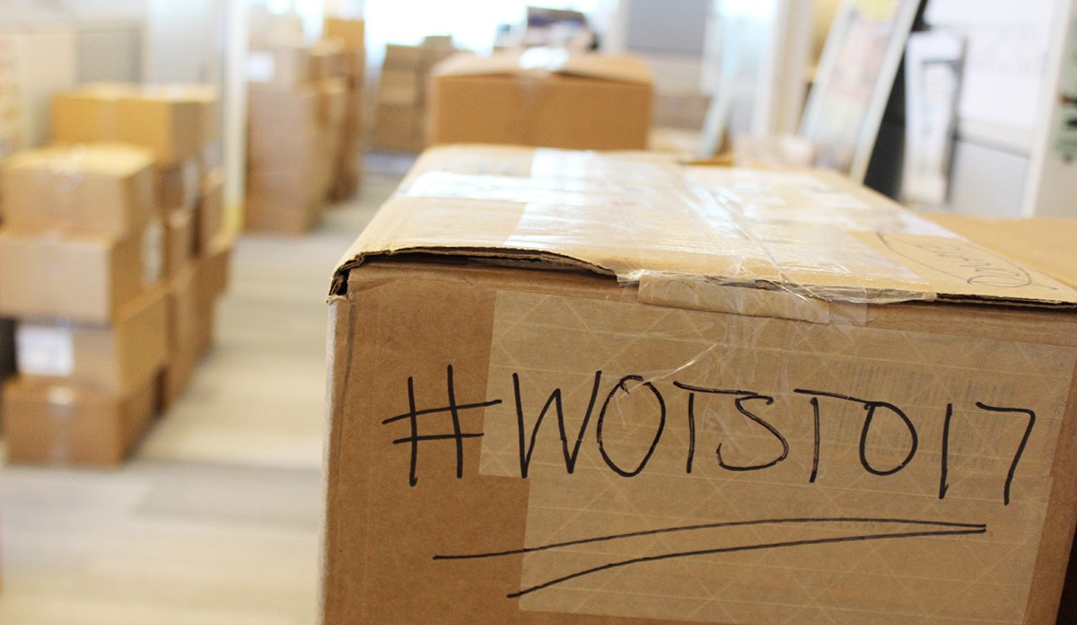 #Toronto readers! Our office is moving and we&#39;re having a HUGE book sale this weekend @torontoWOTS! #wotsTO17  http:// bit.ly/2xy7tyI  &nbsp;  <br>http://pic.twitter.com/qypMiXnCuj