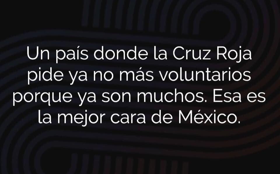 Que siempre tengamos esta iniciativa con el prójimo, no nos cuesta nada. #VamosMexico https://t.co/pAiRgosf2V