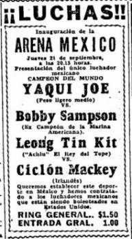 84 years ago today CMLL held their first event #SalvadorLutteroth #LuchaLibre <br>http://pic.twitter.com/KanPhJymvG