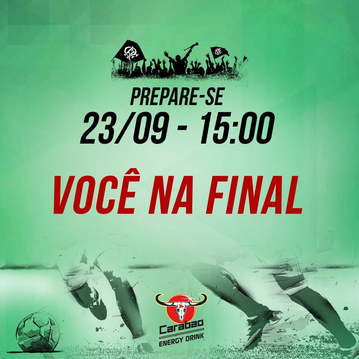 Torcedores com mais energia devem estar sempre com o time. Prepare-se para mostrar muita vontade e chegar junto com o #Flamengo pela taça!
