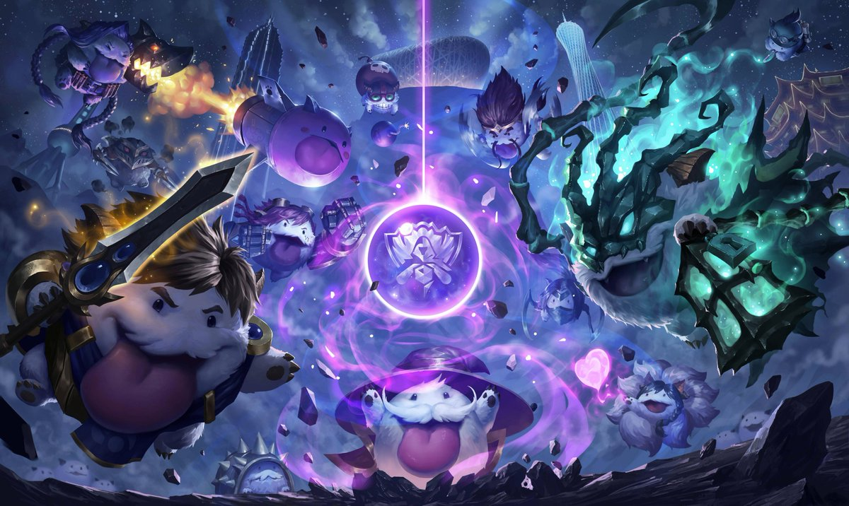 Do you like poros? If so, heres an adorable #Worlds Pickem download perfect for your desktop! 💙 imgur.com/a/dukkR | #LeagueOfLegends