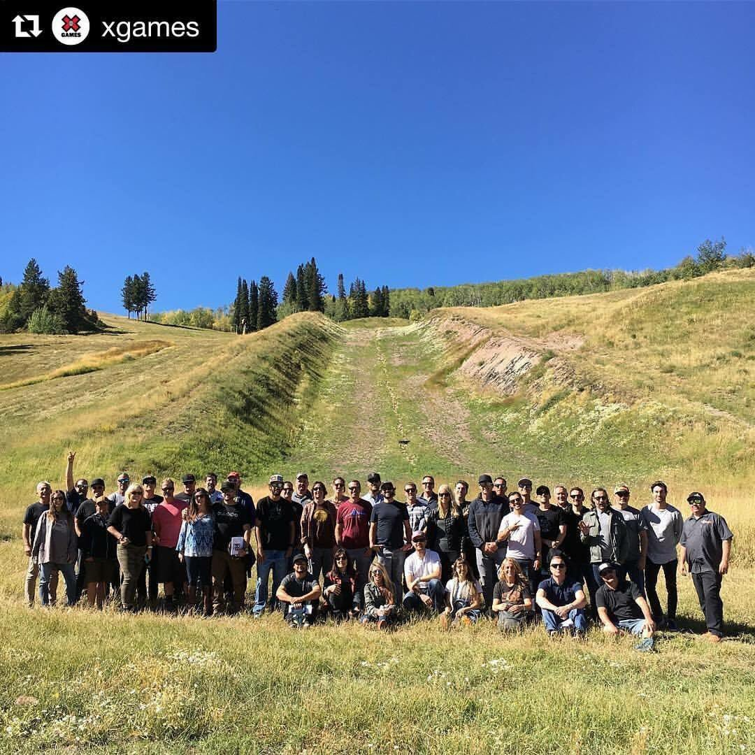 #Repost @XGames : Our amazing staff is hard at work planning #XGames Aspen 2018 at @AspenSnowmass!<br>http://pic.twitter.com/37NkzjudYT