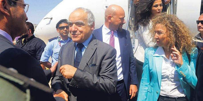 Ghassan Salamé, l'homme qui doit réconcilier la Libye https://t.co/cM1qCMFfZV Par @AntoineMalo2