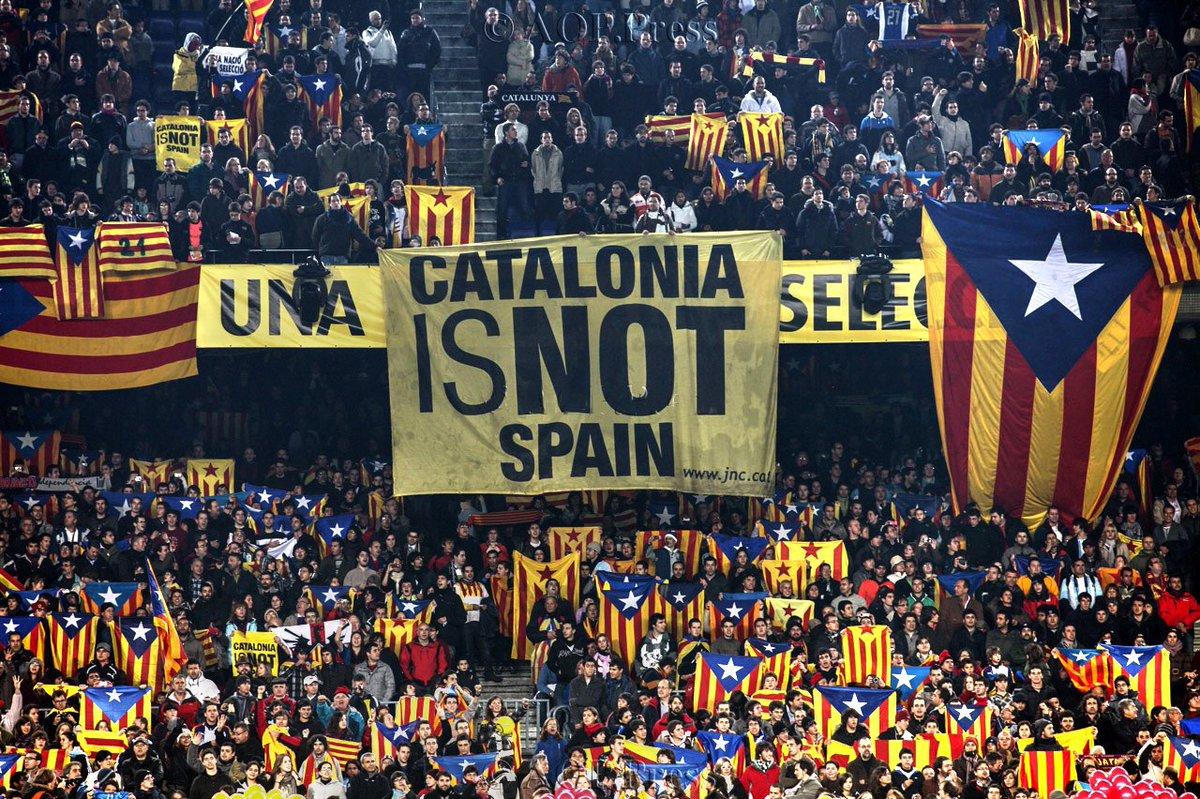 CATALONIA IS NOT SPAIN #cataloniaisnotspain #FreedomforCatalonia #fcbarcelona #barcelona #catalonia #catalunya #realmadrid #Madrid<br>http://pic.twitter.com/B6kBvDE8xM