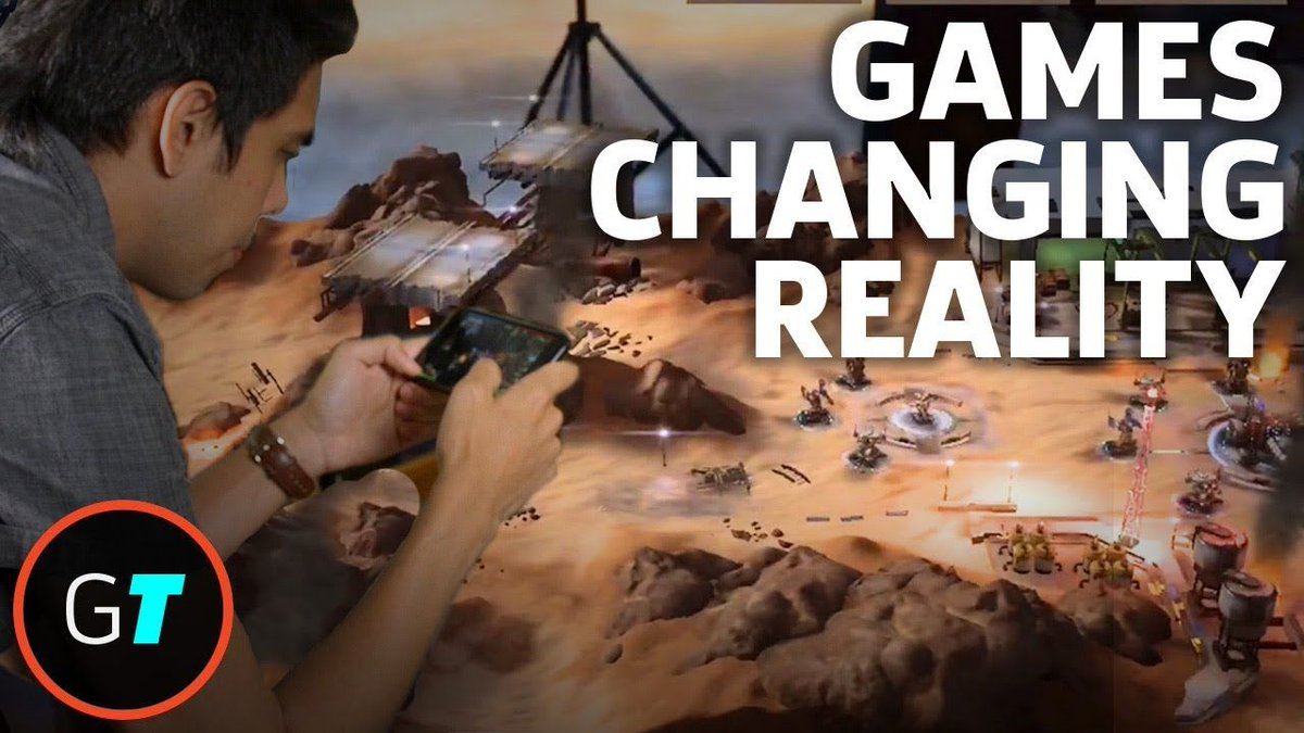 #AugmentedReality Gaming On The New iPhone Platform  https:// buff.ly/2jPlanB  &nbsp;   #AR<br>http://pic.twitter.com/fobKCALAxi