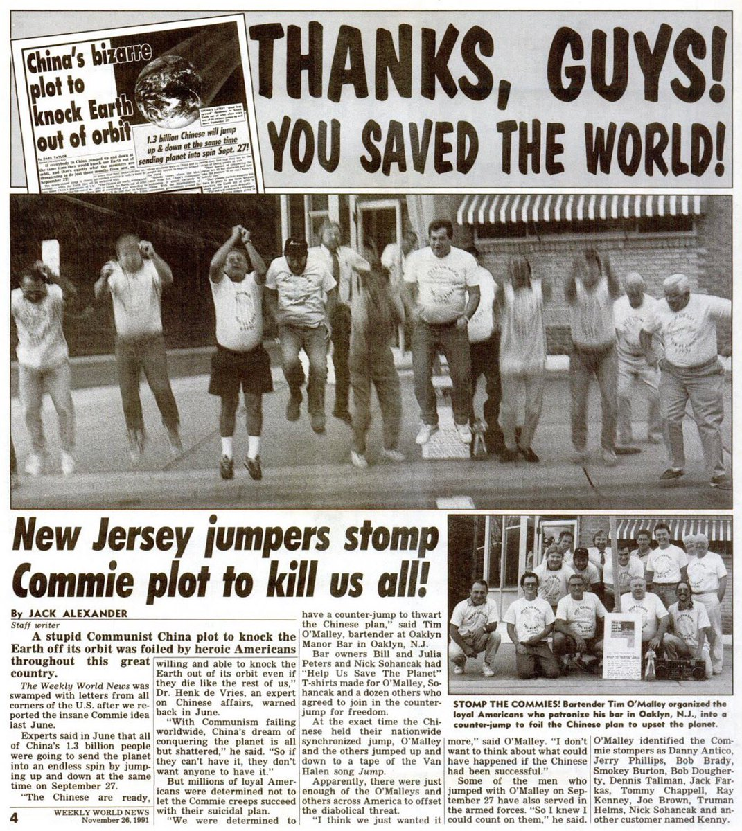 In less than a week we celebrate the 26th anniversary! #orbit #China #Chinese #anniversary #nj @weeklyworldnews @cnnbrk<br>http://pic.twitter.com/jvmaF7vyPf