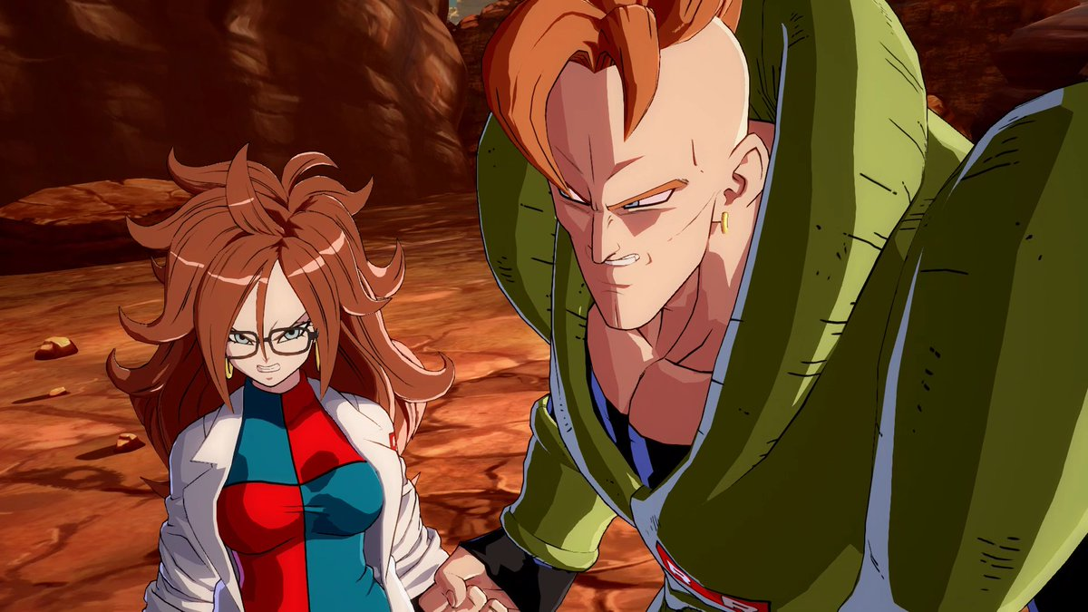 With the introduction of Android 21 in the story of DRAGON BALL FighterZ, the plot certainly THICKENS! 👀 #DragonBallFighterZ