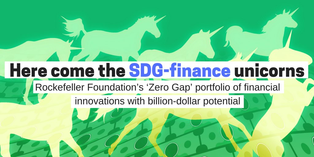 Closing the gap in #SDG finance is the goal of @RockefellerFdn&#39;s new innovative finance initiative  http:// goo.gl/cx7UuV  &nbsp;   #impactinvesting <br>http://pic.twitter.com/B07vOmHQS5
