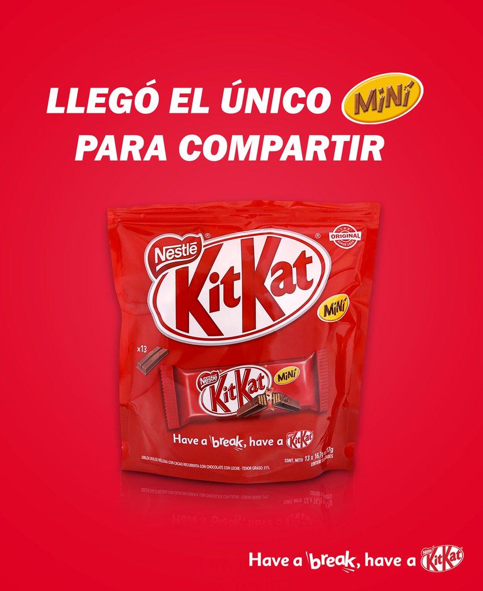 Vas a hacerte muchos nuevos amigos. #ElPoderDelBreak #KitKat 😋🍫🎁 https://t.co/QFbk3ZkDzl