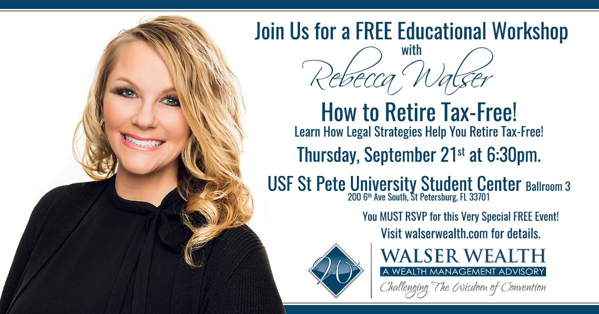 TONIGHT! Don&#39;t miss my next FREE #workshop where I&#39;ll teach you the secrets to a #TaxFree #Retirement! RSVP here:  http:// bit.ly/2fnts1p  &nbsp;  <br>http://pic.twitter.com/XjbdjvjGDM