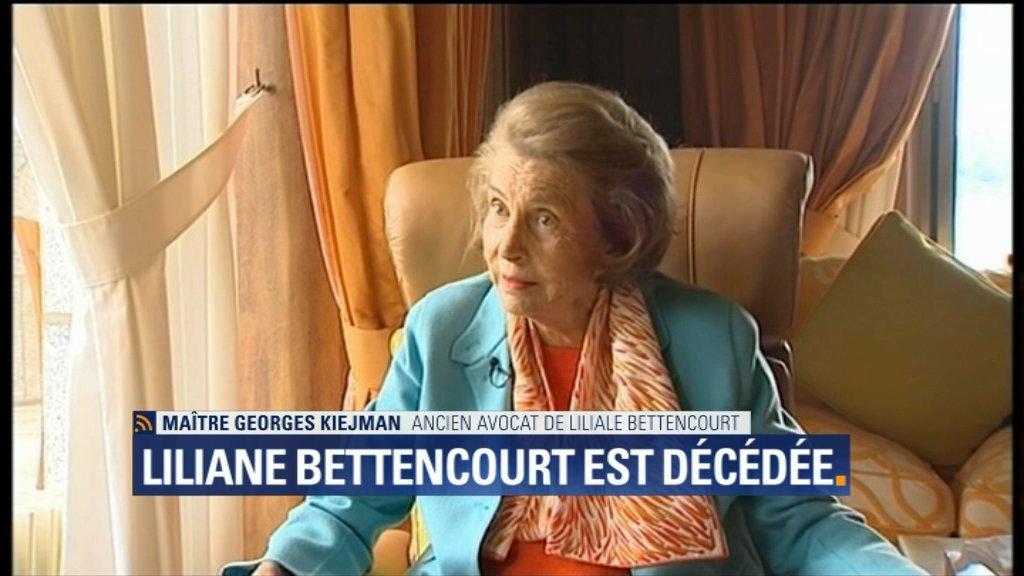 VIDEO - Mort de Liliane Bettencourt: 'On a gâché les dernières années de sa vie', pour son ancien avocat https://t.co/QingwexpLj