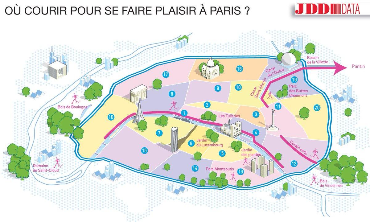 [INFOGRAPHIE] Grand Paris : où courir pour se faire plaisir https://t.co/IohNh9H6w6