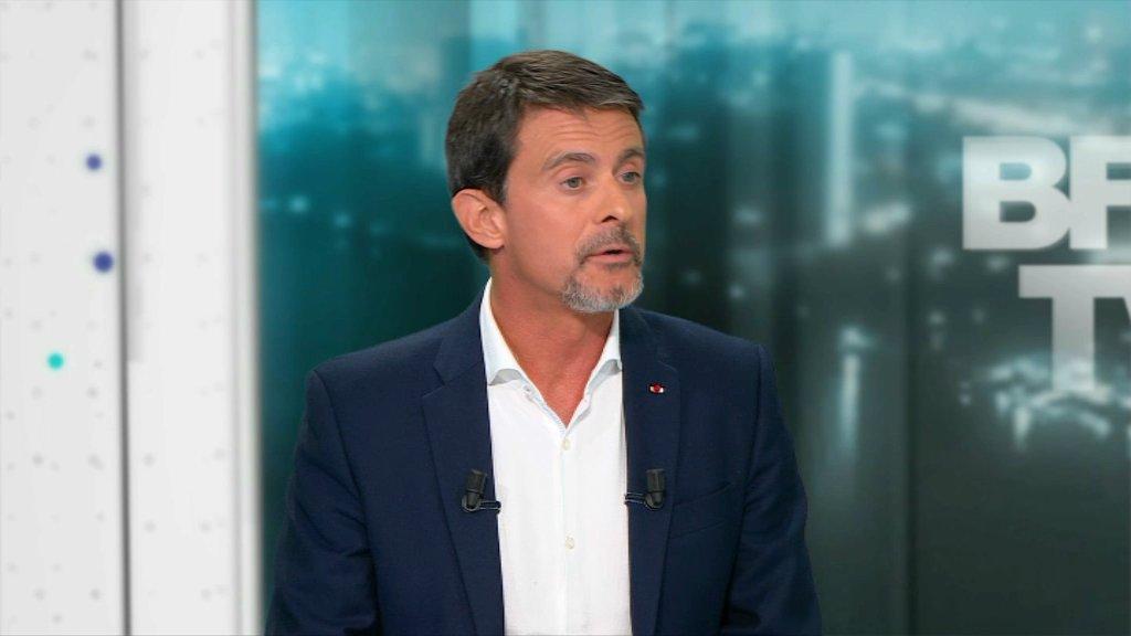 VIDEO - 'Je suis à l'aise dans cette majorité', confie Valls https://t.co/4E5gj2gOUy