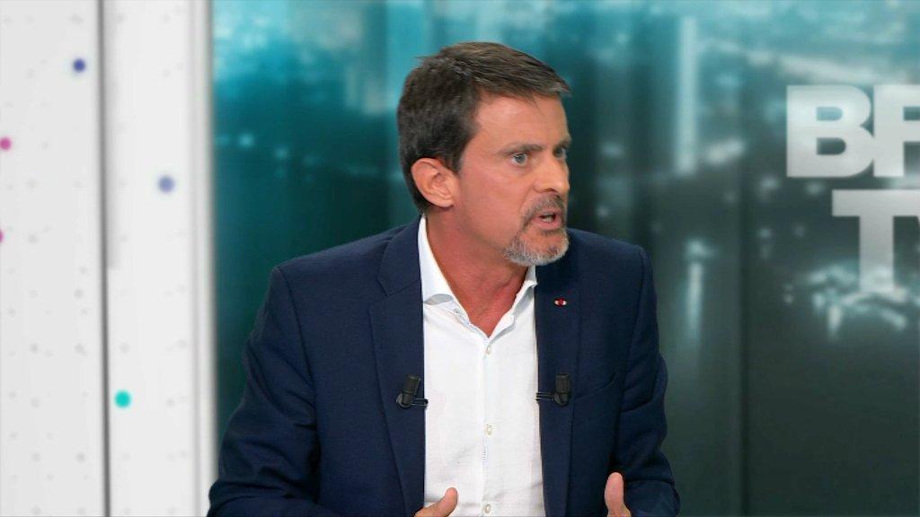 VIDEO - 'Mélenchon représente un vrai danger', selon Valls https://t.co/wzaYCOaSLr