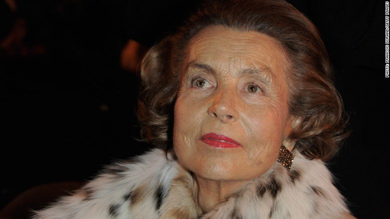 The world's richest woman, L'Oreal heiress Liliane Bettencourt, dies at age 94, her family says https://t.co/gPAeL2R2D9