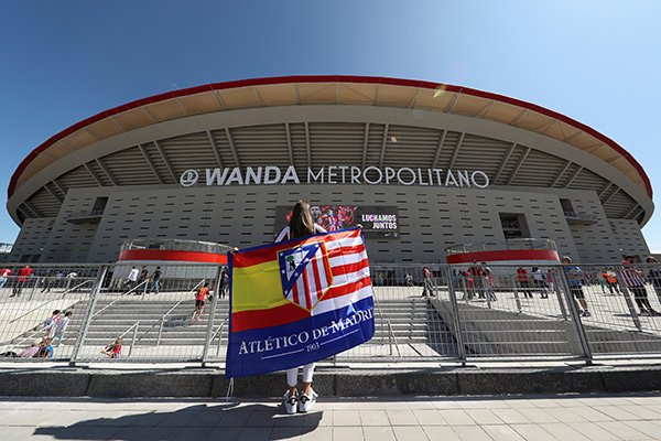 Atletico Madrid&#39;s Wanda Metropolitano Stadium named as venue for 2019 #ChampionsLeague.  http:// ow.ly/Aa5R30fkixO  &nbsp;  <br>http://pic.twitter.com/adFw9vjSe3