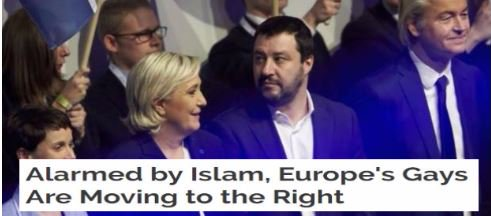 Alarmed by Islam, Europe&#39;s Gays Are Moving to the Right    https:// pjmedia.com/trending/2017/ 09/20/alarmed-by-islam-europes-gays-are-moving-to-the-right/ &nbsp; …    #PeaceDay #ThursdayThoughts #MAGA #Trump <br>http://pic.twitter.com/AbN2s8QEFA