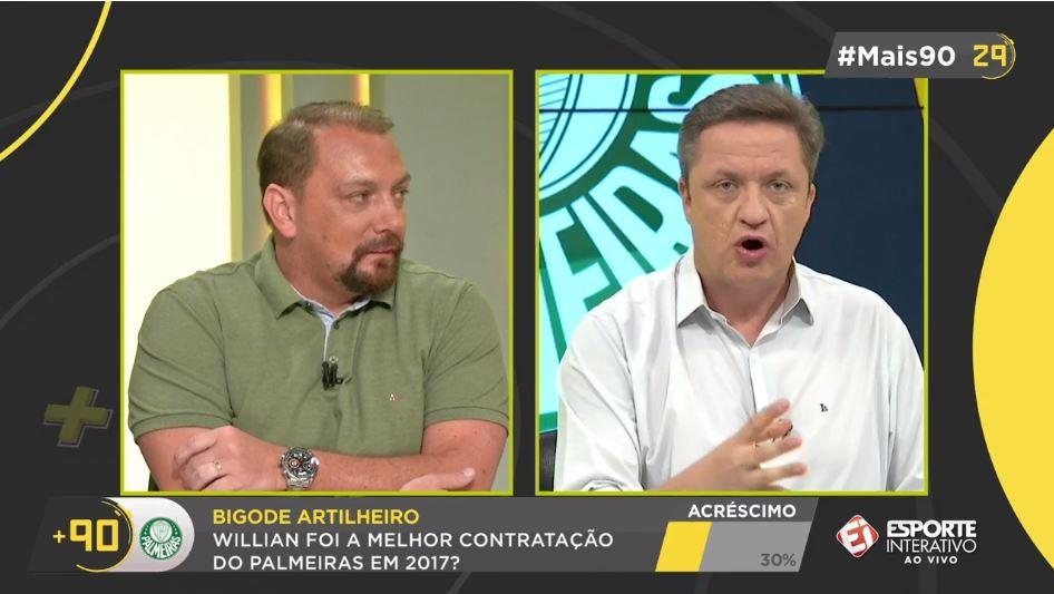 Willian é indiciado no STJD por agressão a Valdivia e pode pegar até 12 jogos de suspensão no Brasileirão! #Mais90