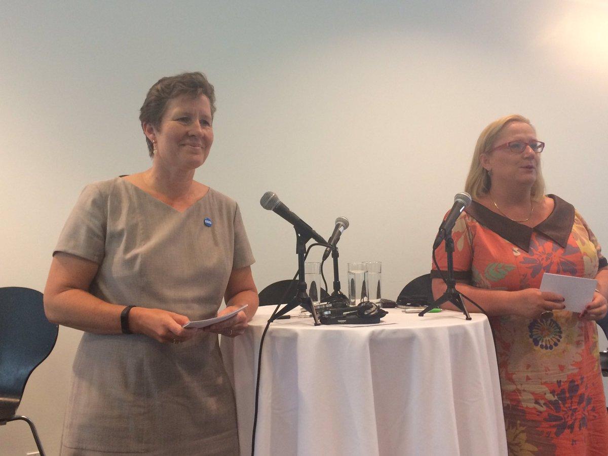 Plan International&#39;s @ABAlbrectsen and Women Deliver&#39;s @Katja_Iversen discuss @Equal2030 policymaker survey on #genderequality #UNGA <br>http://pic.twitter.com/ZisTHPqllj