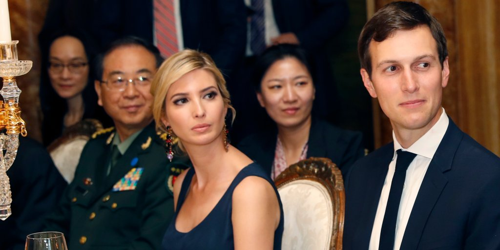 China is questioning its relationship with Jared Kushner https://t.co/KzxN8HcQ6A