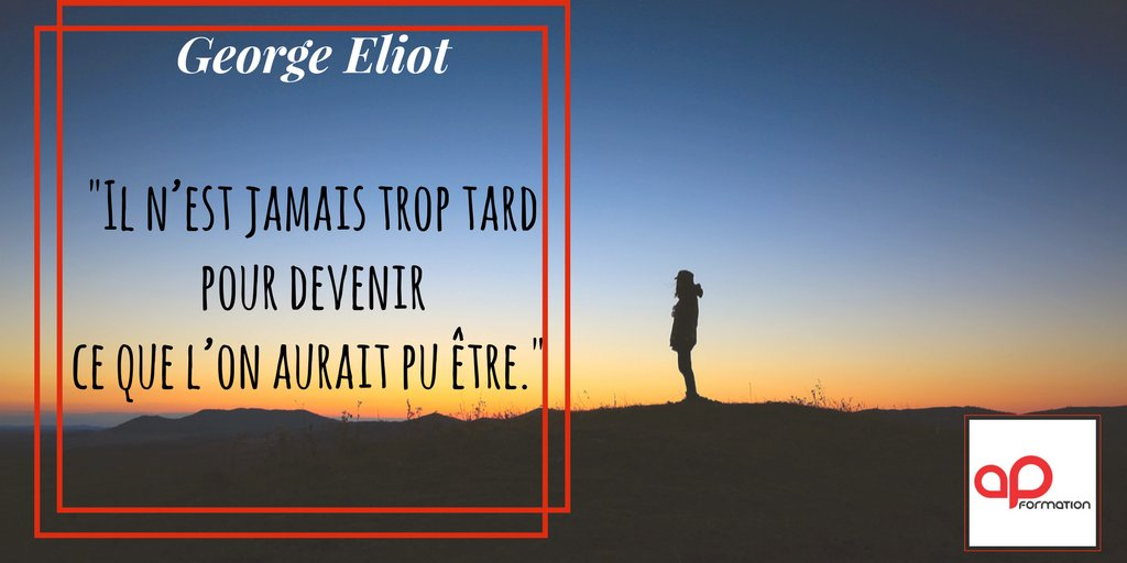 #citation George Eliot via @APFORMATION  https:// buff.ly/2xbEvos  &nbsp;   / #motivation<br>http://pic.twitter.com/BzU7SBn3bC