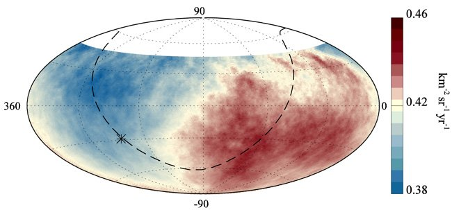 &quot;From galaxies far far away!&quot; -  for @augerobs for the #StarWars reference in today&#39;s #PressRelease.  https://www. auger.org/images/News/pa pers/Press-Release_Pierre-Auger-Collaboration_2017-09-21.pdf &nbsp; … <br>http://pic.twitter.com/dPhIy3RQp4