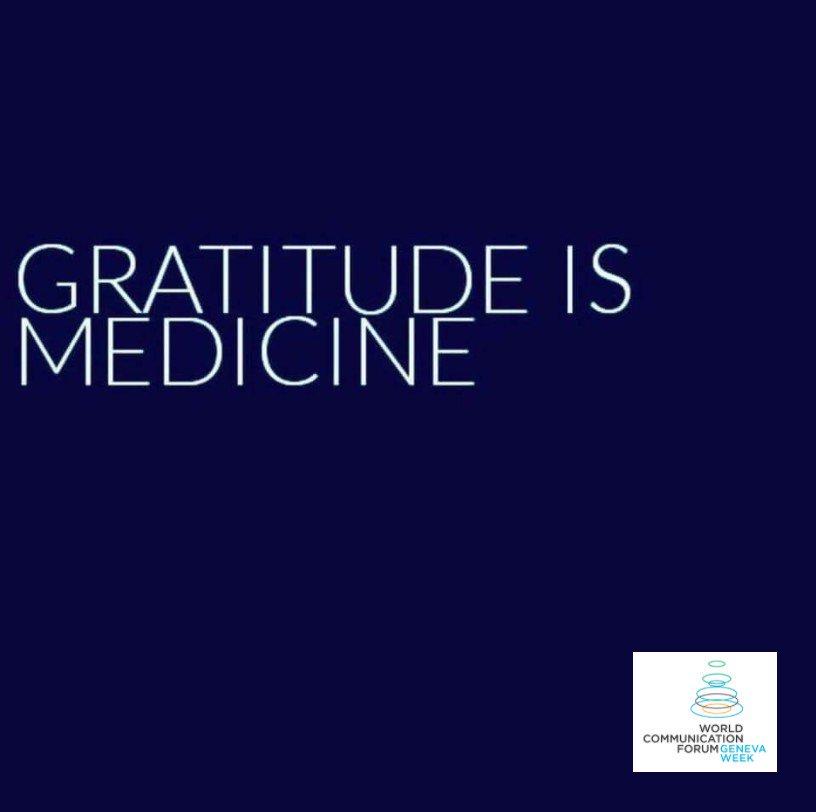 Generosity starts with #gratitude.  #ThursdayThoughts #wcfdavos #CSR<br>http://pic.twitter.com/jGKIj0gRSU
