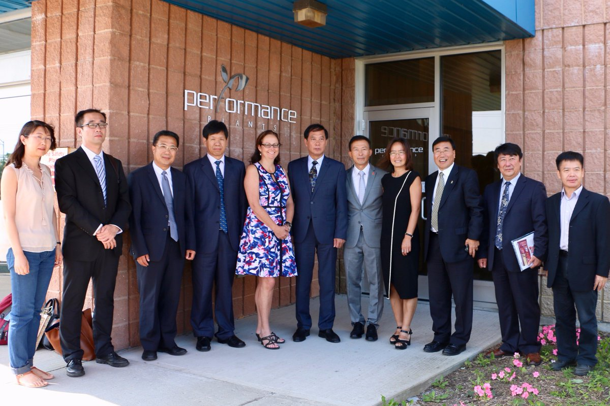 Welcoming our esteemed guests from the Chinese Academy of Agricultural Sciences on their international tour. #ag #teamygk #buildingbusiness <br>http://pic.twitter.com/ohmEM41aCN