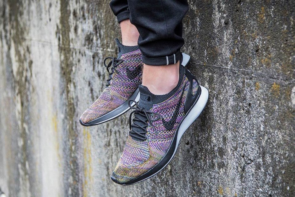 buy popular c3226 8429e guess who s bizzack it s the nike air zoom mariah flyknit racer in  multicolor 20