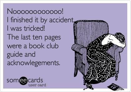 Worst feeling in the world. Can you relate? #books #bookpost #bibliophile <br>http://pic.twitter.com/ne0GjhSgys