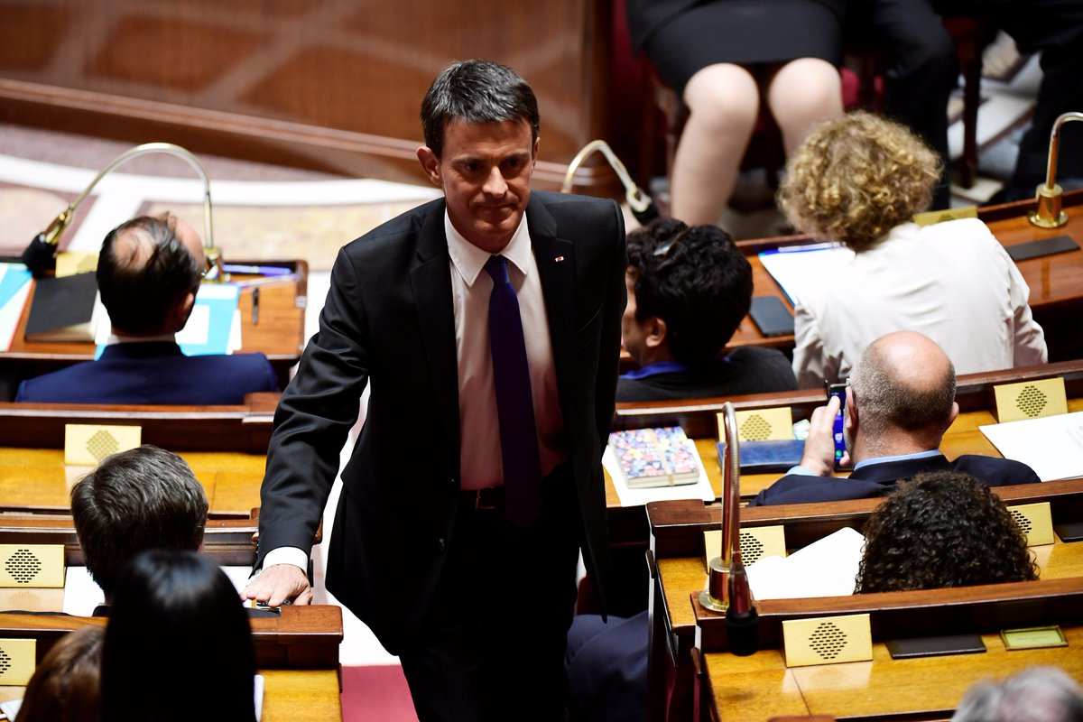 Manuel Valls: 'Florian Philippot est entouré de gens particulièrement dangereux' https://t.co/NDviywRG6o